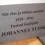 Pildid Seinaplaat Johannes Tuisk